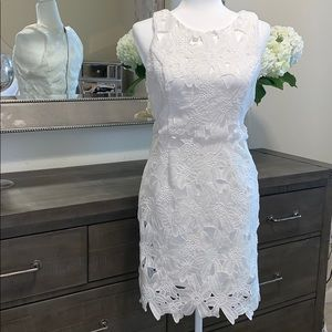 Astr the label- white lace dress